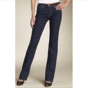 J Brand Curvy Fit Boot Leg Jeans Size 25